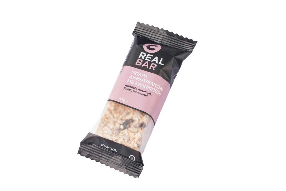 cranberry cereal bar