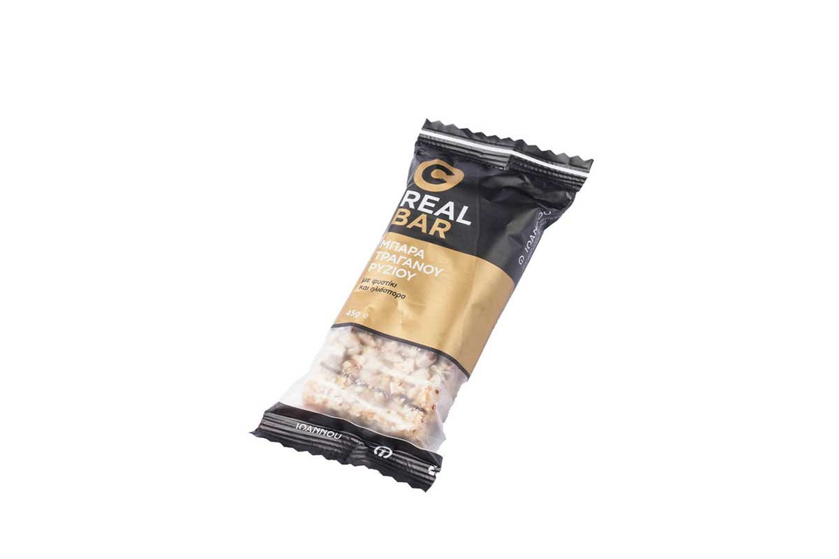 packaged rice bar