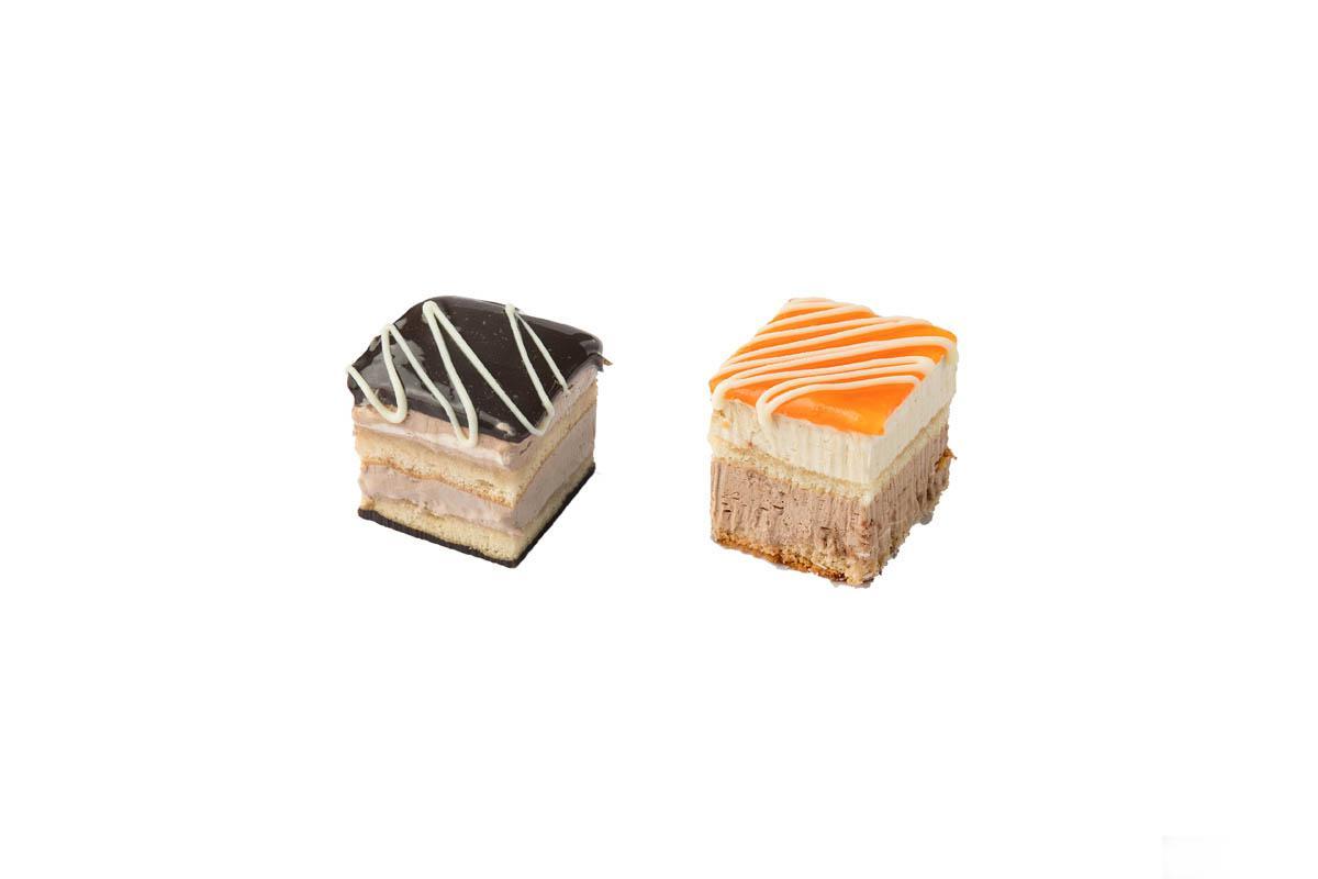 chocolate - orange mini cake combo