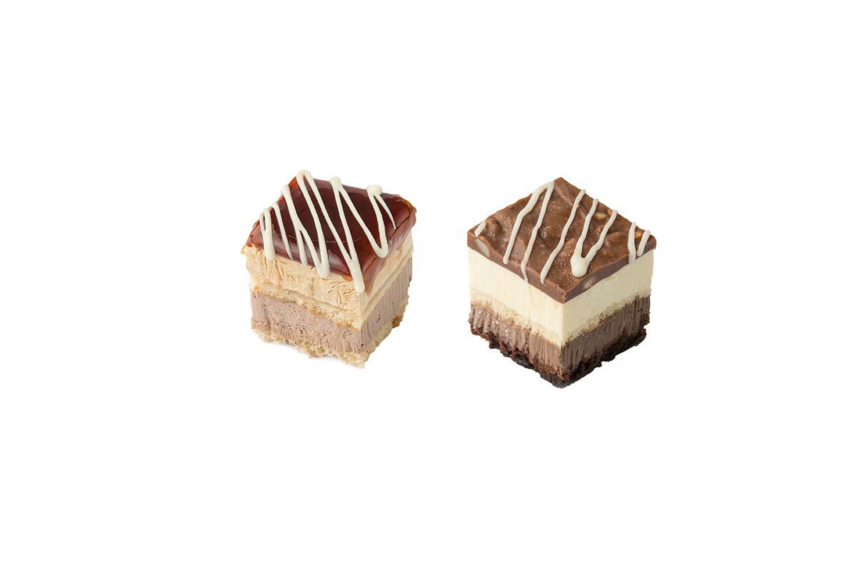 caramel-ferrero mini cake combo