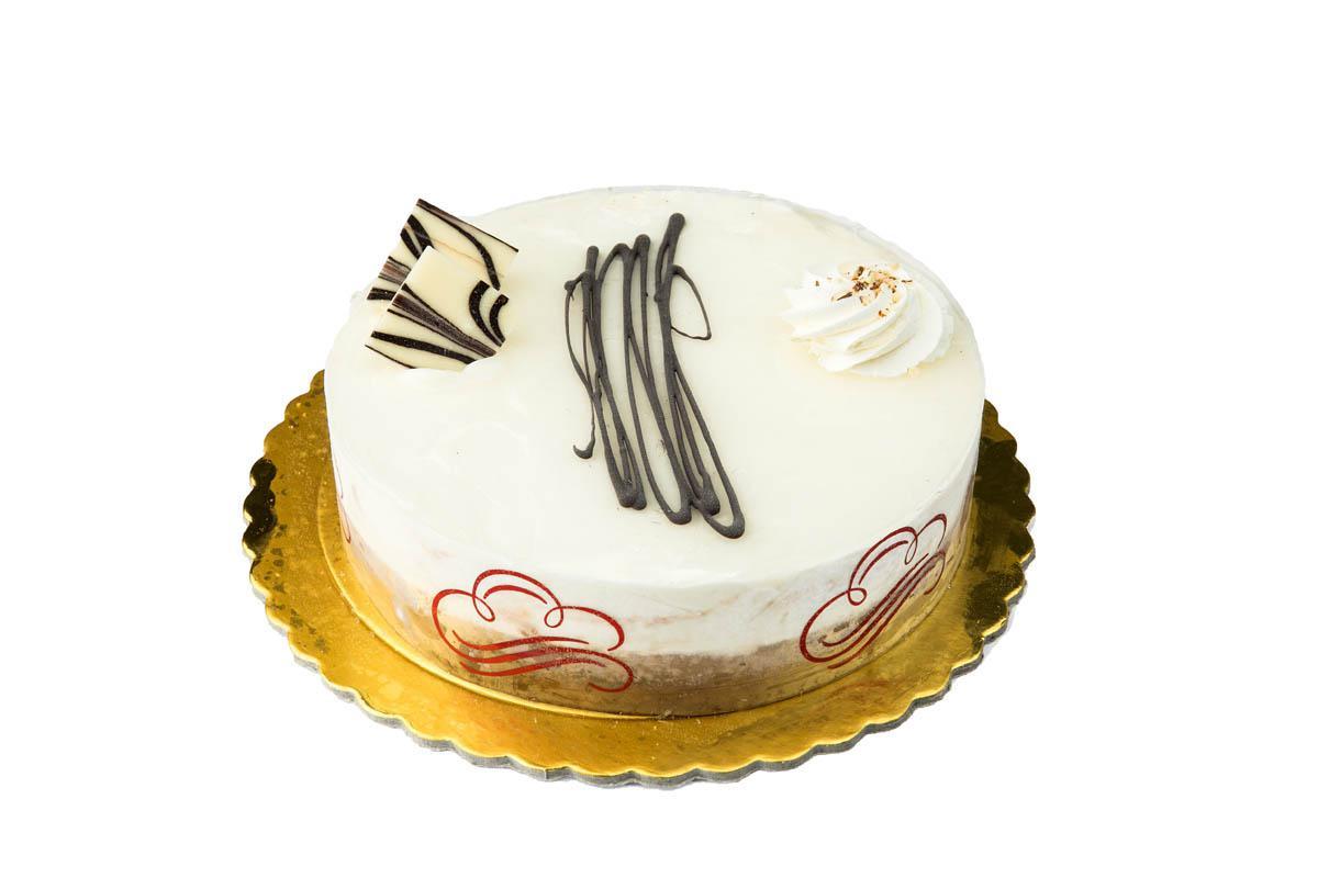 vanilla-cocoa ice cream cake