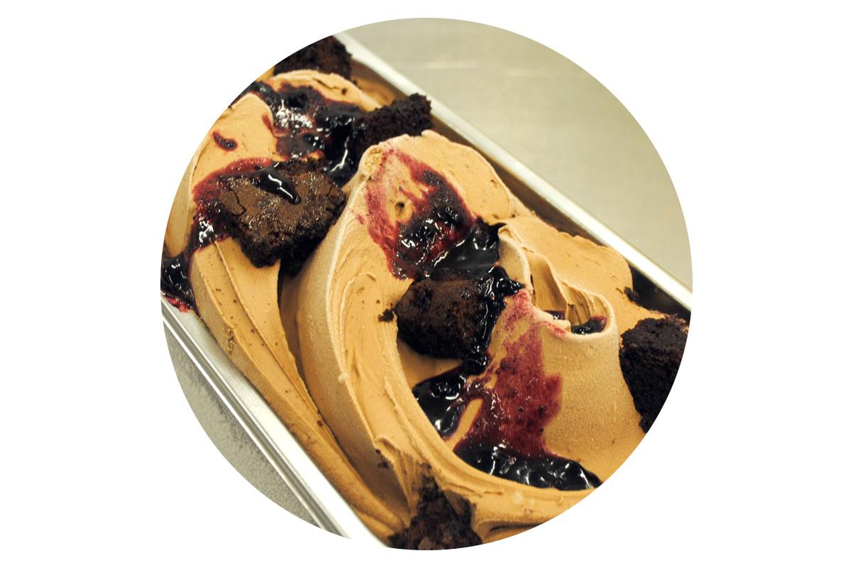 black forrest ice cream